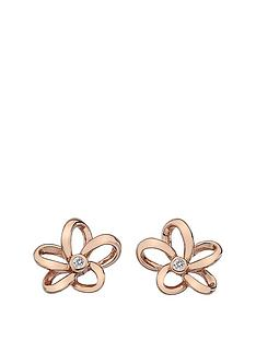 hot-diamonds-rose-gold-plated-paradise-open-petal-earrings