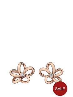 hot-diamonds-rose-gold-plated-paradise-open-petal-earrings