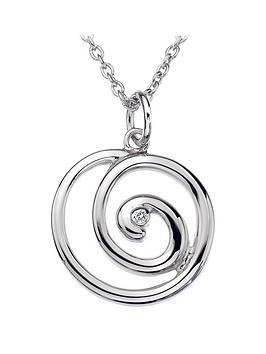 hot-diamonds-sterling-silver-eternity-spiral-pendant