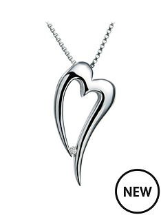 hot-diamonds-sterling-silver-heart-pendant