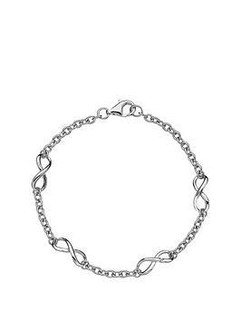 hot-diamonds-sterling-silver-infinity-bracelet