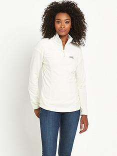 jack-wolfskin-gecko-half-zip-fleece-cream