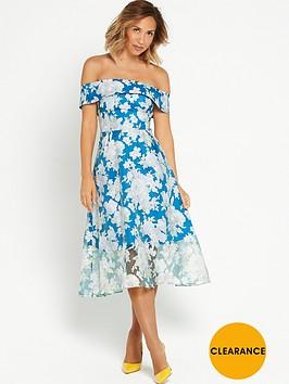 myleene-klass-full-skirted-bandeau-dress