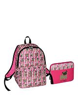 Backpack with Free Ipad Case - Pink