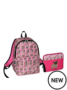 david-goliath-backpack-with-free-ipad-case-pink