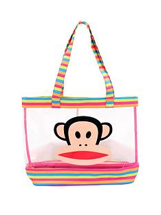 paul-frank-shopper-bag-multicoloured-stripe