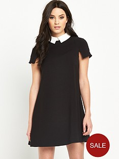 v-by-very-collar-skater-dress
