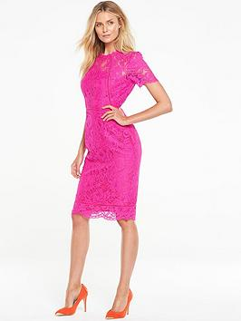 v-by-very-ladder-lace-midi-dress