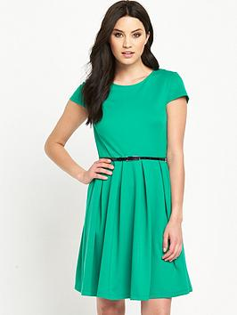 v-by-very-fit-and-flare-belted-waist-skater-dress