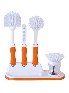 beldray-beldray-4-piece-kitchen-scrubbing-brush-set