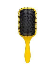 denman-denman-tangle-tamer-ultra-yellownbspamp-free-denman-be-bop-circular-massage-brush