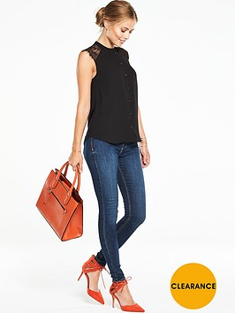 v-by-very-lace-insert-jersey-back-blouse