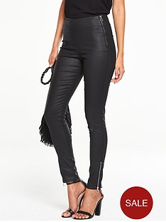 v-by-very-side-zip-matte-coated-denim-jegging