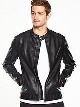 PULeather Biker Jacket