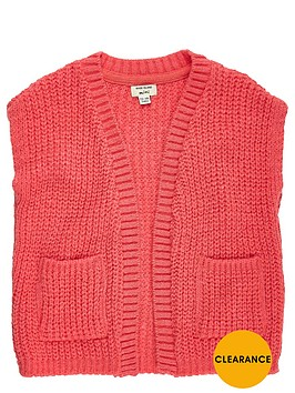 river-island-mini-girls-knitted-sleeveless-jacket