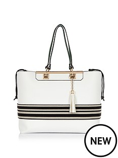 river-island-stripe-beach-bag-tote