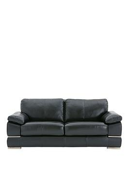 Very Primo Italian Leather 3 Seater Sofa Picture