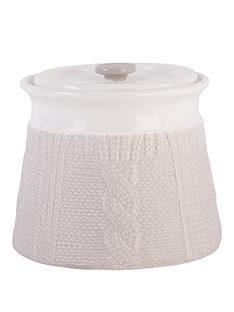 beau-elliot-chunky-knit-biscuit-jar-pebble