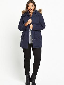 so-fabulous-quilt-detail-faux-fur-hooded-parka