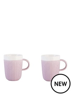beau-elliot-chunky-knit-mugs-set-of-2-heather