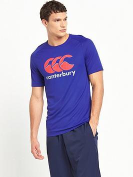 canterbury-poly-large-logo-t-shirt