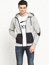 Zip Through Swoosh Hoody