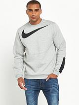 Nike Large Logo Crew Neck Sweat