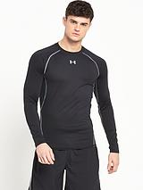 Mens Heatgear Long Sleeve Tee