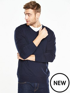 v-by-very-v-neck-jumper