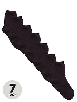 top-class-unisex-black-ankle-socks-7-pack