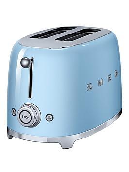 Smeg Smeg Tsf01 2-Slice Toaster - Blue Picture