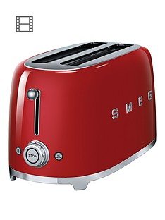 smeg-tsf02-4-slice-toaster-red