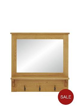 london-ready-assembled-oak-hallway-mirror-with-shelf-and-hooks