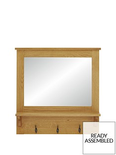 luxe-collection---london-oak-ready-assembled-hallway-mirror-with-shelf-and-hooks