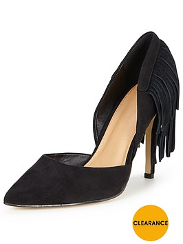 v-by-very-willow-fringed-heel-point-court-black