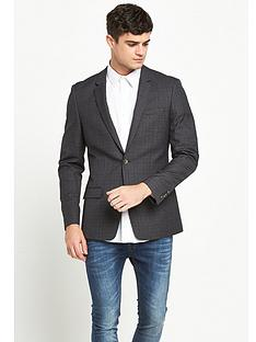 river-island-check-skinny-fit-jacket