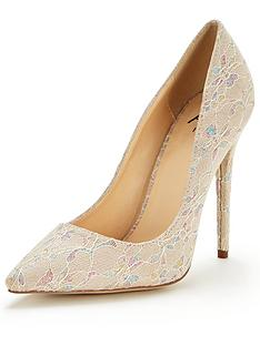 ax-paris-misty-lace-wedding-court-shoes