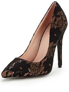 ax-paris-leah-floral-lace-court-shoe
