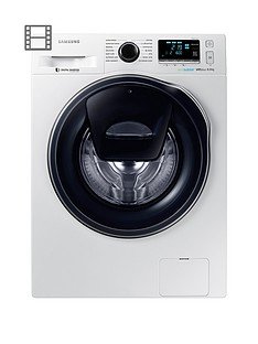 samsung-ww80k6610qweu-8kg-load-1600-spinnbspaddwashtrade-washing-machine-with-ecobubbletradenbsptechnology-and-5-year-samsung-parts-and-labour-warranty-white