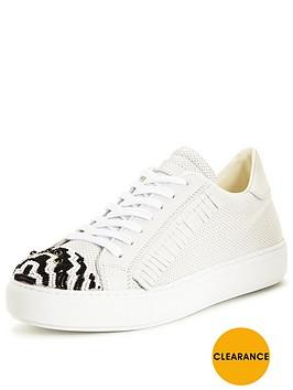 pinko-acquamarine-white-fringe-sneaker