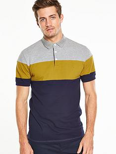 v-by-very-colour-block-pique-polo