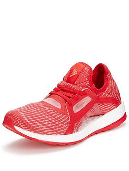 Adidas Pure Boost X Training Shoe  Red
