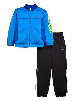 adidas-originals-adidas-younger-boys-linear-logo-poly-suit