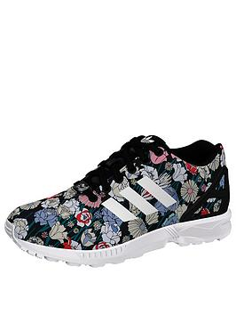 Adidas Originals Zx Flux Shoe  Print