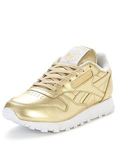reebok-cl-spirit-metallic-trainers