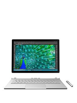 Microsoft Surface Book Intel&Reg Core&Trade I7 Processor 8Gb Ram 256Gb Ssd Touchscreen 2In1 Laptop With Nvidia Geforce Gpu  Silver  Laptop With Microsoft Office