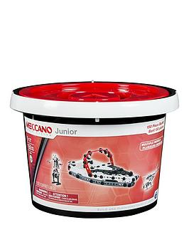 Meccano 150 Piece Bucket