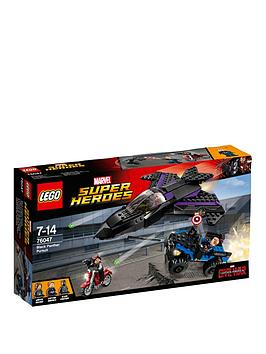 Lego Super Heroes Super Heroes Black Panther Pursuit 76047