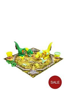 jurassic-world-wreck-n-roarnbspplay-doh-game