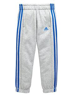 adidas-older-boys-climalitenbspthree-stripe-pants